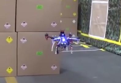 Un drone qui dépasse les 70km/h de manière autonome !