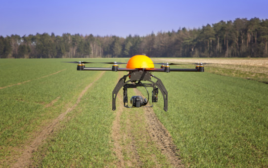 Le monde agricole se met aux drones !