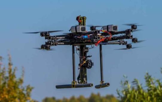 Nouveau Prototype de drone Russe composé de Bazookas