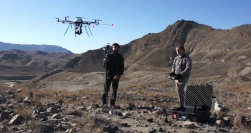 Des drones pour sauver des sites historiques !