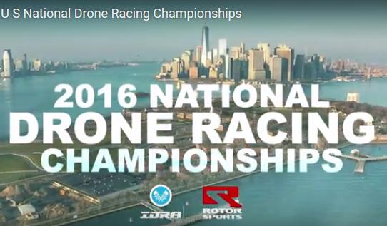 Une course de drone pour le mois d'août aux Etats-Unis !