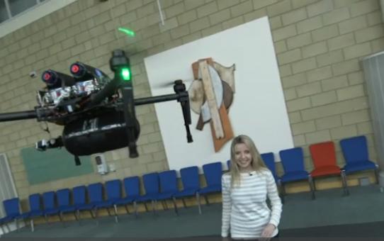 Des drones à hydrogène avec deux heures d'autonomie !