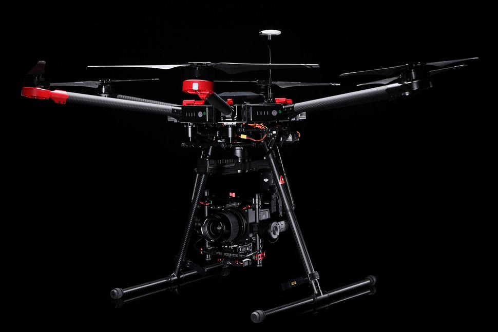 Le drone A5d-M600 pour les pro avec DJI et Hasselblad !