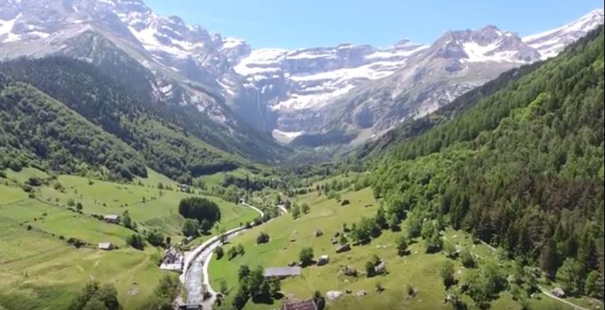 Le parc national des Pyrénées filmé par un drone !