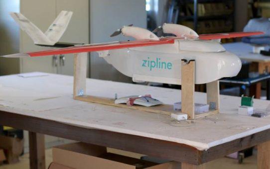 Zipline, le drone qui ravitaille les hopitaux !