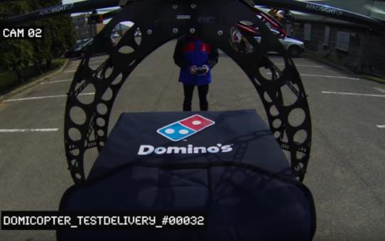 Bientôt des livraisons de pizzas par drone en Nouvelle-Zélande !