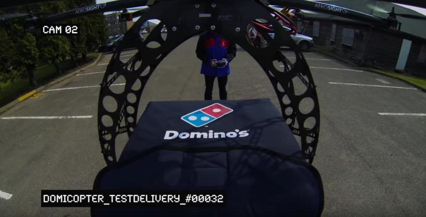 Bientôt des livraisons de pizzas par drone en Nouvelle-Zélande