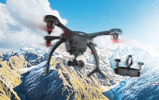 Le Ghostdrone 2.0 VR : L'alliance entre les drones et la réalité virtuelle !