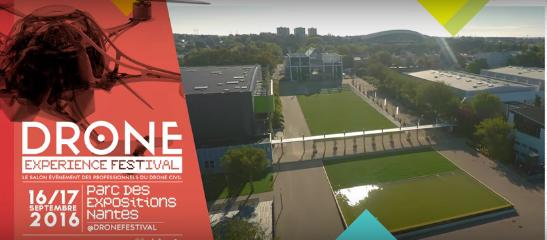 Drone experience : Un festival du drone à Nantes pour les 16 et 17 septembre