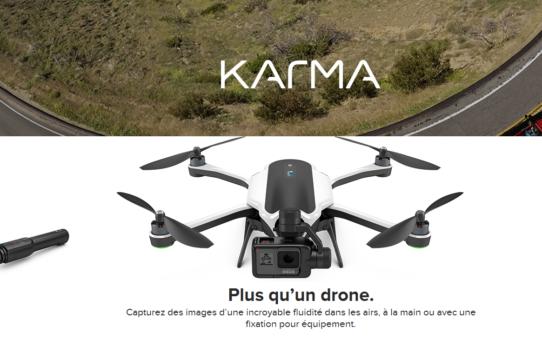 Le drone Karma de Gopro enfin dévoilé !