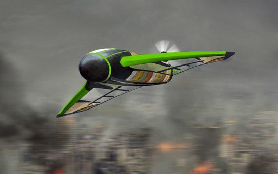 Drone Pouncer : Un drone comestible pour faire de l'humanitaire !
