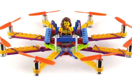 Le drone en lego pour les amateurs de briques !