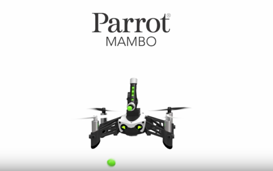Les minidrones Swing et Mambo de Parrot font leur entrée !
