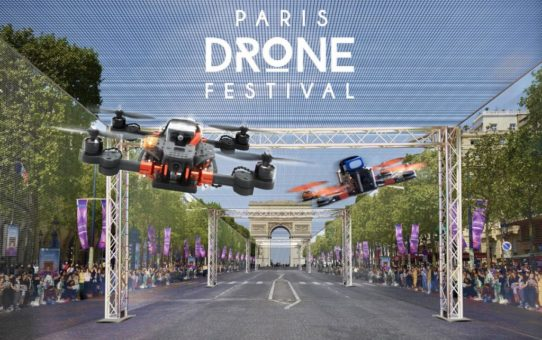 Course de drones à paris