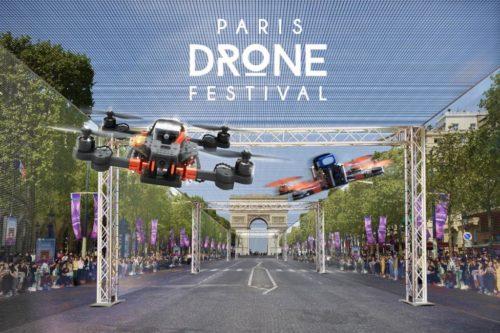 Course de drones à paris