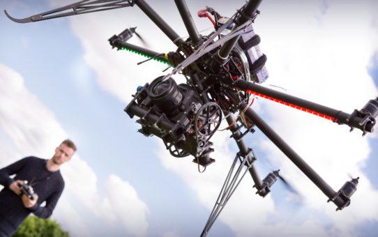 Bientôt des espaces pour piloter son drone à Paris !