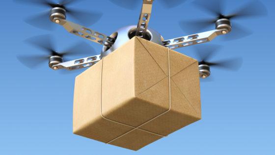 UPS a testé des livraisons de matériel médical avec des drones